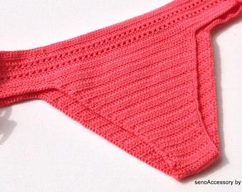 Carol Crochet Bikini Bottom Women Swimwear Swimsuit 2016 Summer Beach Wear Brazilian Bikini senoaccessory