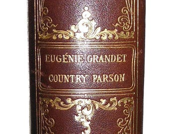 Eugenie Grandet The Country Parson and Other Stories H. DE BALZAC 1899 Nice!