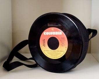 Willie Nelson 45RPM Vinyl Record Purse