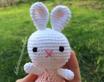 Amigurumi Little Bunny, Amigurumi toys, Amigurumi Bunny, Crochet Toy, Christmas baby gift, Newborn Gift, Baby Shower Gift