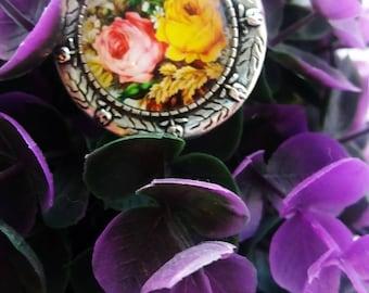 Pretty in Florals Brooch