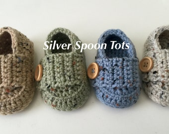 Baby boy Loafers, Newborn baby booties,Baby Boy Shoes, Babtism Shoes, baby girl loafers, Color Of Your Choice Color Chart 65 colors