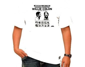 Willie Colon ORIGINAL PUERTO RICAN Gangster T-shirt