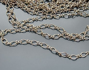 16.6 feet Antique Bronze Mother-Son Chains (20259)