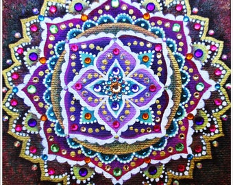 I Love It Mandala / The Sparkling~Mandalas Collection by Radka SoulArt