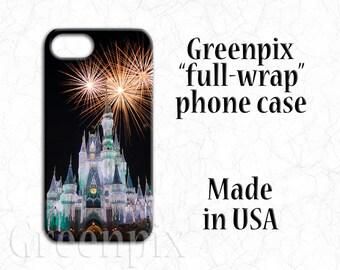 Disney fireworks iPhone case, Disney iPhone X case, Disney iPhone 8 case. Disney iPhone 7 case, Disney iPhone 6 case, Cinderella Castle