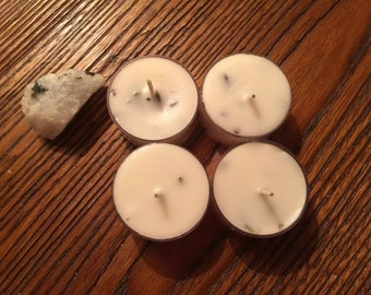 Lavender Sage Cedarwood Candle-Ritual Candle-Spell Candle-Witchcraft Candle-Altar Candle-Magick Candle