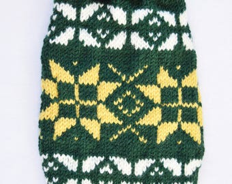 made to measure and custom made dog pet warm winter sweater - other colors are possible