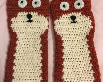Foxy Wristers Pattern **Download Only**