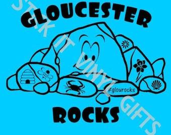 Gloucester Rocks T-shirt