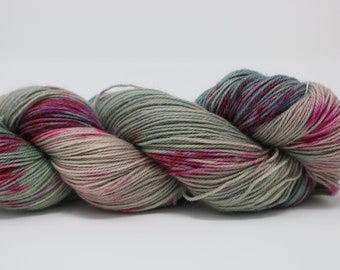 Hand Dyed Yarn - Superwash - Sock Yarn - 80/20 Merino/Nylon - Variegated  - 'Be Kind'
