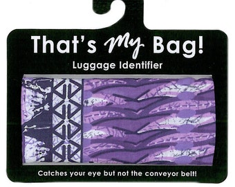 That's My Bag - Purple Safari