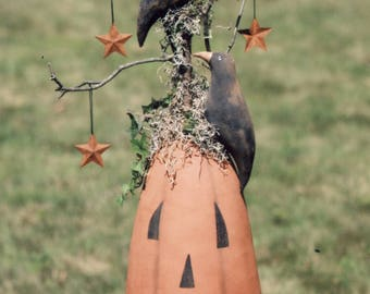 Primitive MAILED PATTERN A Pumpkin to Crow About