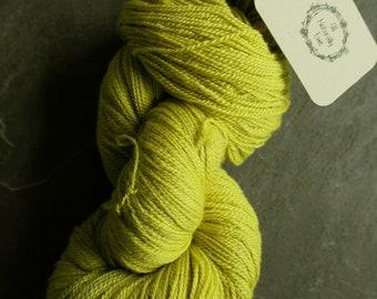 Hand Dyed Merino and Silk Yarn Naturally Dyed