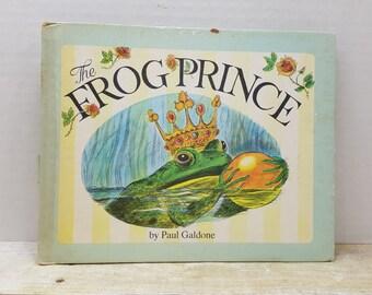 The Frog Prince, 1975, Paul Galdone, vintage kids book