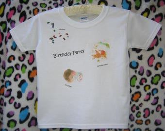 Birthday Bash Dirtee-Shirt T-shirt