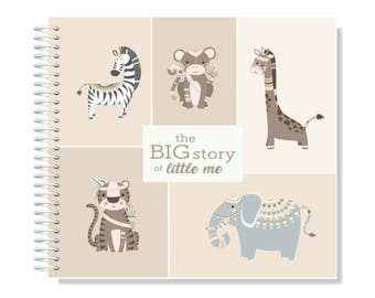 Custom Made Tribal Baby Memory/Record Book 'The Charlie'