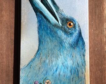 Corvus the Cunning -Crow art