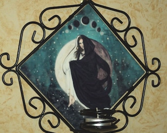 Lunar Eclipse Candle Wall Sconce