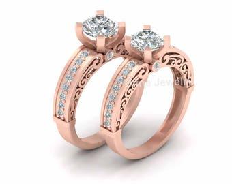 Couple wedding rings Etsy