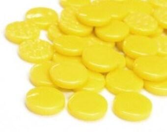 18mm Round Gloss - Lemon Gloss- 50g