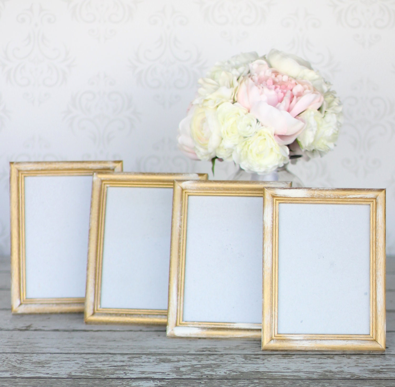Gold 5x7 frames signs wedding bridal shower engagement zoom jeuxipadfo Images