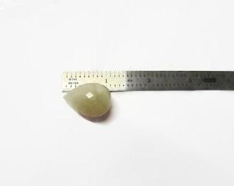 Quartz Teardrop Focal Bead