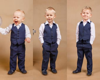 Boys\' Wedding Suits | Etsy