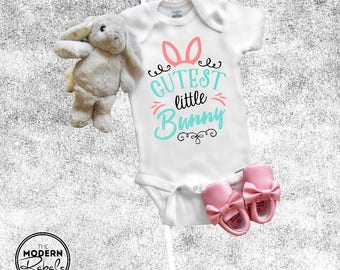 Easter Chocolate Bunnies Easter Gift Infant Funny Cute Baby Boy/Girl Bodysuit bSEs1upe