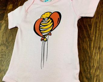 Baby Girl Gift, Natural Baby Clothing, Organic Baby Girl, Baby Clothing Girl, Balloons, Organic Baby Gift, Baby Girls, Baby Girl
