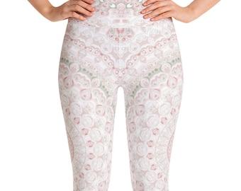 Leggings Spring High Waist Yoga Pants, Women's Printed Leggings