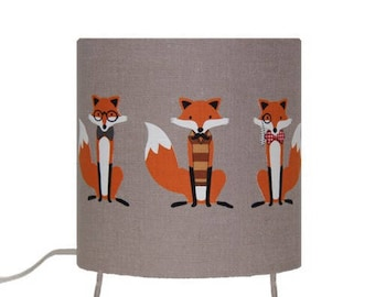 Child lamp - fused foxes