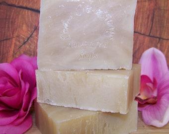 Coconut Lemongrass Cold Processed Soap Vegan Coconut Lemongrass Soap