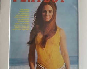 Original Playboy cover in mount July 1971