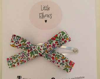 Liberty of London Katie & Millie Snap Clip Baby Girl Adult