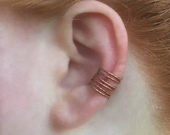 Non Pierced Ear Cuff Climber, Ear Climber Cuff, Cartilage Ring, Fake Cartilage Earring, Cartilage Earcuffs, Fake Piercing