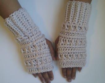 Katniss fingerless gloves, fingerless gloves, fingerless mitts, crochet gloves, crochet mittens