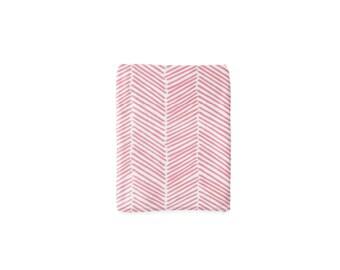 Pink Freeform Arrows Blanket, Minky Baby Blanket, Arrow Baby Blanket, Pink Baby Blanket, Newborn Chevron Blanket, Baby Cloud Blanket