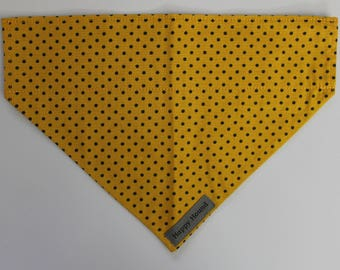 Dotty Dog Bandana - Yellow