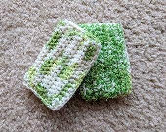 Crocheted Dish Scrubby