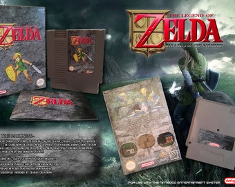 Zelda: Shadow of Night CIB NES NINTENDO