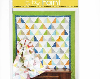 Cluck Cluck Sew - TO THE POINT - Multi-Size Quilt Pattern - Triangles Pattern