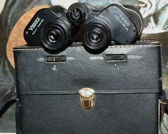 Verix 7x50 Binoculars with Built-in Radio