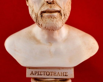 Aristoteles Bust greek statue White NEW