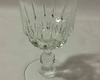 Vintage French Liquor Glass