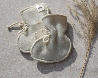 Baby wool booties Merino wool booties Natural  booties Baby shower gift Merino wool booties Baby socks Organic newborn booties Gift for baby