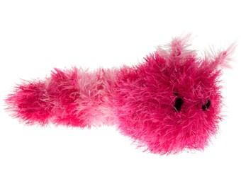 Caterpillar with internal squeaker