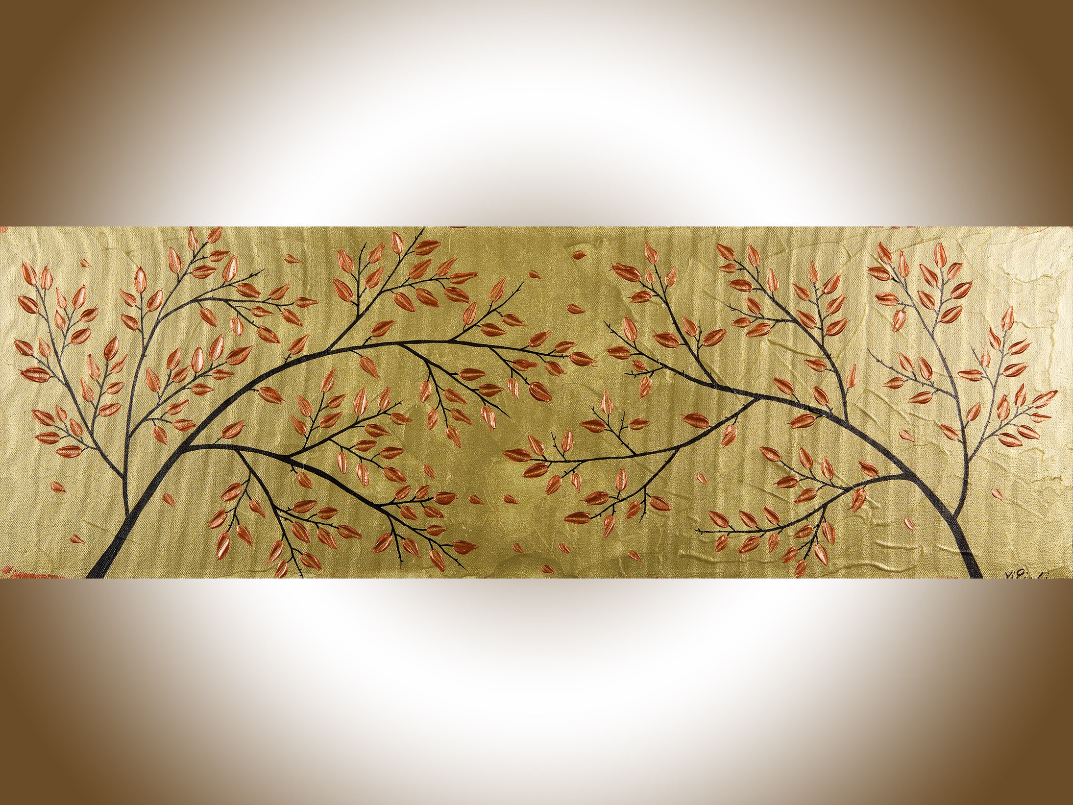 Colorful Copper Tree Wall Art Picture Collection - All About Wallart ...