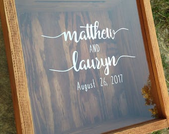 Wedding baskets boxes etsy wedding card box personalized shadow box mr and mrs honeymoon fund gifts solutioingenieria Choice Image