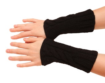 Women arm warmers - women arm warmers, knitted gloves, mittens, fingerless for her, womens arm warmers, wrist warmers, fingerless gloves